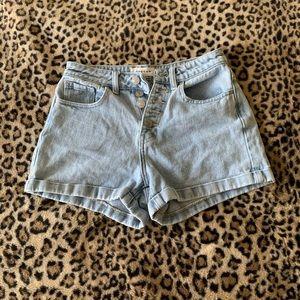 Pacsun high waisted mom shorts size 24